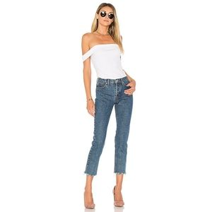 Hudson Jeans Relaxed Straight Riley Luxe Cropped